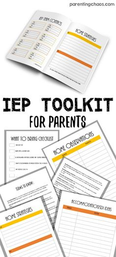 FREE IEP Toolkit for Parents!