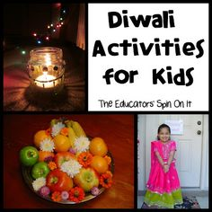 Here's a peek at our family learning about Diwali with our kids. These Diwali activities are simple and informational as your explore the festival of lights with your child.