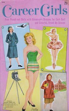 Paper Dolls~Career Girls - Bonnie Jones - Picasa Webalbums