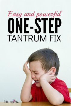 Tantrums can be a nightmare as a parent. Use this one-step and see toddler tantrums and other meltdowns gradually fade.