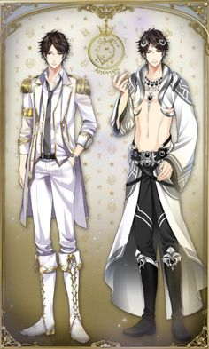 """urinamoon: """" Star Crossed Myth JP - Aigonorus God Form Illustration © Voltage Inc …………………………………………………… Oh gods, he is just so beautiful and gorgeous *____* """""""