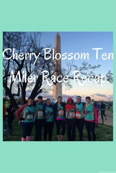 Cherry Blossom Ten Miler Race Recap - a windy, cold day AND a PR!