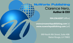 Business Card Design for NuWorle Publishing Company, designed by Moksha Media - Daymond E. Lavine