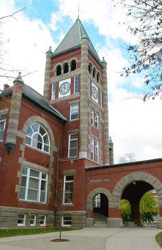 America's Greenest Colleges - University of New Hampshire U.s. States, United States, Rockingham County, University Of New Hampshire, Campus Map, College Life, Dorm Life, New Mexico, New England