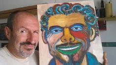 Che onore ... Grazie Alessandro mi sono emozionato! In un ritratto su tela l' amico ed artista Alessandro Tamponi interpreta la caricatura di Gaetano. Ci piacerebbe che lasciaste un vostro commento su questo ritratto che ci ha colpiti per originalità e profondità artistica. Per scoprire Alessandro e le sue opere, è anche l'autore delle pitture su bet1128, vi consigliamo di visitare il suo sito http://www.pitturatamponi.it/portale/