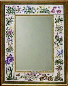 """Купить Зеркало """"Альпинарий"""" - хаки, зеркало, зеркало настенное, зеркало в раме, Зеркало в подарок"""