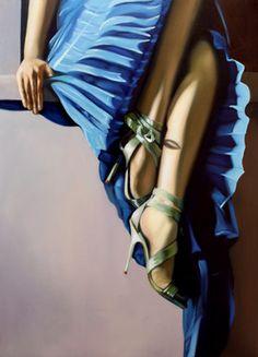 """Saatchi Art Artist Courtney Murphy; Painting, """"Delicate"""" #art"""