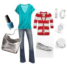 Dr. Seuss inspired Spring outfit... LOVE these colors!!