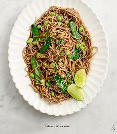 ginger-citrus soba noodles / loveandlemons.com
