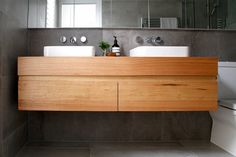 recycled timber vanities