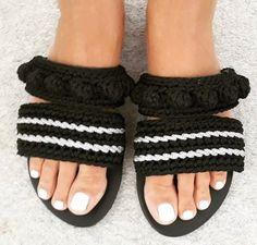 Sandals, Greek sandals, Leather sandals, Crochet sandals, Barefoot sandals, Elegant style, Chick sandals, Summer, Handmade, Made in Greece #sandals #crochet #greek #leather #fashion #style #boho #bohemian #ethnic #shoes