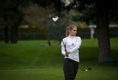 Lauren Williams is a high school senior with rheumatoid arthritis. With new clubs, medication and therapy she's swinging like a pro on her school's golf team.