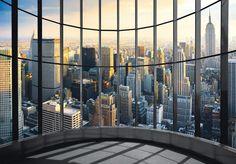 Fototapete New York Office View
