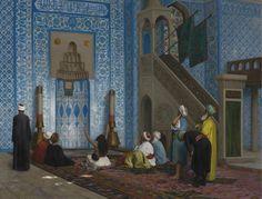 Jean-Léon Gérôme - Rüstem Pasha Mosque, Istanbul