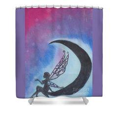 Star Fairy Shower Curtain