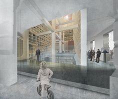 Galería - Primer Lugar Rehabilitación Biblioteca Congreso Nacional / Beals   Lyon   Matías Zegers - 31