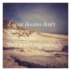 if your dreams dont