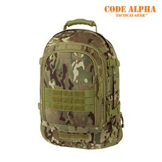 Mercury Luggage 3-Day Stretch Backpack, TAA - Multicam