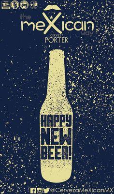¡FELIZ AÑO NUEVO! te desea Cerveza meXican   una noche increíble, con buena compañía, bueno    @cerveceriacoral #cerveceriacoral  #cervezaartesanal    @cervezaamateur #cervezaamateur  @cervezautopiamx @cervezautopiamx  @cervezamexicanmx #cervezamexicanmx  @cervezaquerida #cervezaquerida  @cervezacanica #cervezacanica  @cervezaempirica #cervezaempirica Happy New, Beer, Poster, New Mexico, Happy New Year, Night, Root Beer, Ale, Billboard