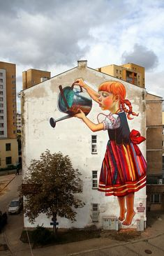 Great Street Art By Natalia Rak - http://www.dailylifestyleideas.com/hairstyles/great-street-art-by-natalia-rak.html