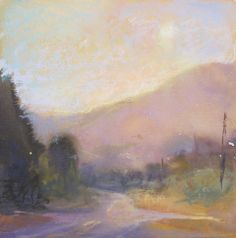 new day of possibilities by Loriann Signori Pastel ~ 6 x 6