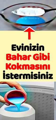 Evinizin Bahar Gibi Kokmasını İstermisiniz - Fashitaly All Pictures Krud Kutter, Turkish Kitchen, Tips & Tricks, Car Cleaning, Clean House, Housekeeping, Home Remedies, Diy And Crafts, Life Hacks