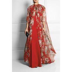 Curated Collection: The Caftan Resort 2016 Look 20 on Moda Abaya Fashion, Muslim Fashion, Modest Fashion, Fashion Dresses, African Fashion, Indian Fashion, Dress Skirt, Dress Up, Dolce & Gabbana