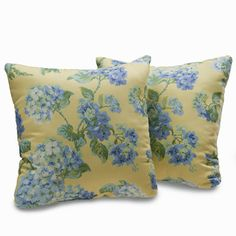 Callaway Floral 18-inch Decorative Throw Pillows (Set of 2)