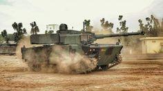 Tank Medium Pindad Tampil Perdana di HUT TNI 2017