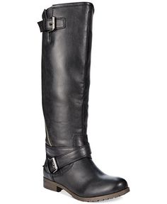 Material Girl Ludlow Tall Wide Calf Riding Boots - Wide Calf Boots - Shoes - Macy's