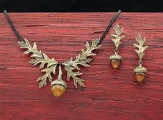 Wear The Oak & Acorn, One Of The Symbols Of The Autumnal Equinox!