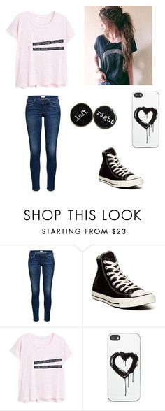 """casual outfit"" by mariah-rose1 ❤ liked on Polyvore featuring moda, Converse, MANGO y Zero Gravity"