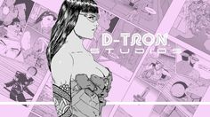 Support Don Austin  creating Comics, Illustrations, Sketches #cyberpunk #manga #creatorownedcomics #denverart #illustration #cyberpunkgirl #independentcomics #indycomics #patreon #denver #halftone #halftoneart #blackandwhite #pinup #crowdfunding