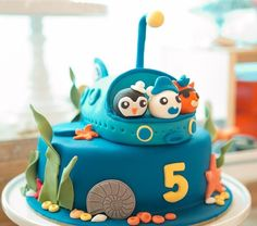 Octonauts Party with Lots of Fun Ideas via Kara's Party Ideas   KarasPartyIdeas.com #Octonauts #PartyIdeas #Supplies (19)