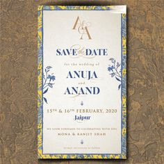 Creative Save the Date ideas for your Hindu wedding with pictures Invitation Card Design, Digital Invitations, Invitation Cards, Cheap Save The Dates, Save The Date Photos, Save The Date Templates, Indian Wedding Invitations, Wedding Cards, Blush Pink