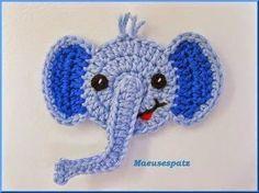 """""""Crochê da Mimi"""": Apliques em crochê"""