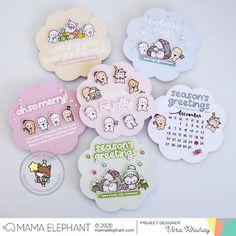 moccavanila by vera rhuhay: MAMA ELEPHANT - OCTOBER STAMPEDE Mama Elephant Stamps