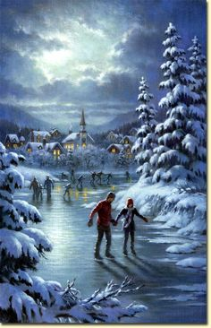 WINTER & CHRISTMAS: Beautiful pictures of Corbert Gauthier