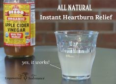 An instantly effective, all-natural heartburn remedy that signals digestion to work properly so food goes down, not up.