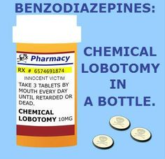 "If you value your cognitive function and don't want dementia, don't take benzodiazepines. Your doctor will tell you they're ""safe"" and ""harmless"". They're NOT. Do your research: www.benzo.org.uk"