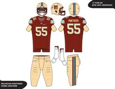 USFL Redesign: Michigan Panthers and Expansion Talk (6/8) - Page 4 ...