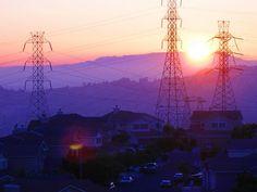 Castro Valley sunset - Pixdaus