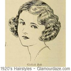 12 classic short bob haircuts for you to choose from. But be very careful ! hairstyle chart published in 1924 by the American Hairdresser Short Bob Haircuts, Cool Haircuts, Vintage Hairstyles, Bob Hairstyles, Casual Hairstyles, Medium Hairstyles, Braided Hairstyles, Wedding Hairstyles, Retro Updo