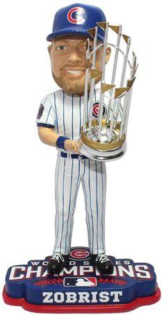9fd7e03624a Ben Zobrist (Chicago Cubs) 2016 World Series Champions Bobble Head