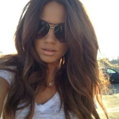 I'm going longer and lighter next time I get my hair done. Maybe even lighter than this :)