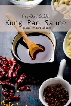 detailed guideline about how to prepare a well balanced kung pao sauce