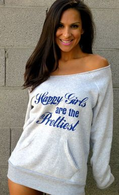 Happy Girls are the Prettiest Off the by FiredaughterClothing, $38.00