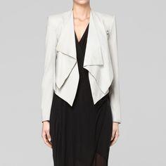 linen viscose suiting jacket / helmut lang