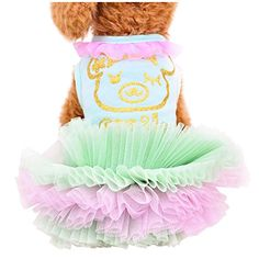 Patgoal Dog Gauze Tutu Dress Skirt Pet Dog Cat Puppy Prin... https://www.amazon.com/dp/B06XWW4Y4F/ref=cm_sw_r_pi_dp_x_Qzb8zbJ5TXZR6