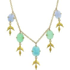 Cathy Waterman Opal And Chrysoprase Lyrical Wheat Necklace (€14.730) ❤ liked on Polyvore featuring jewelry, necklaces, long necklaces, cathy waterman jewelry, hand crafted jewelry, toggle necklace and toggle clasp necklace